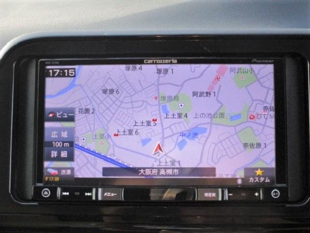 X ETC・バックカメラ・カロッツェリアメモリーナビ・Bluetooth・両側スライド片側電動ドア・キーレスエントリー・アイドリングストップ・3列シート・プロジェクターヘッド(11枚目)