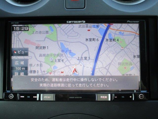X 後期型・安全ブレーキ・コーナーセンサー・Bカメラ・ETC・カロッツェリアメモリーナビ・Bluetooth・スマートキー・プロジェクターヘッドライト・ウインカードアミラー(11枚目)