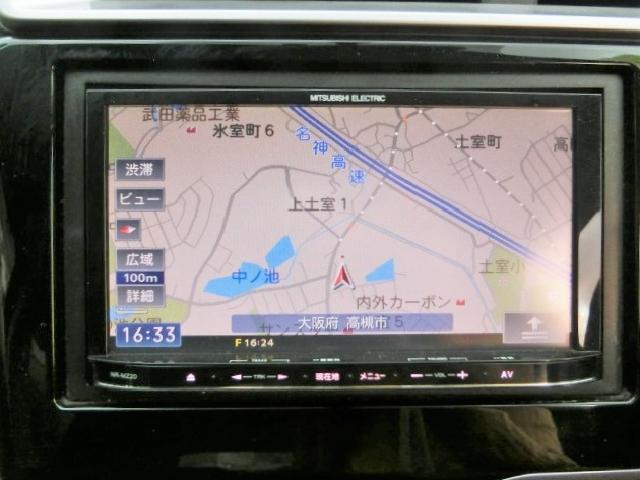 三菱メモリーナビ【NRーMZ20】Bluetooth・SDカード再生