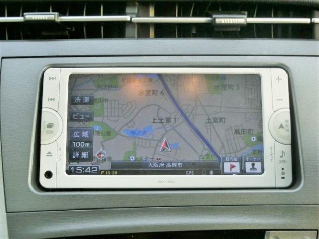純正SDナビ【NSCP-W62】Bluetooth・ワンセグTV・CD・SDカード再生・AUX対応