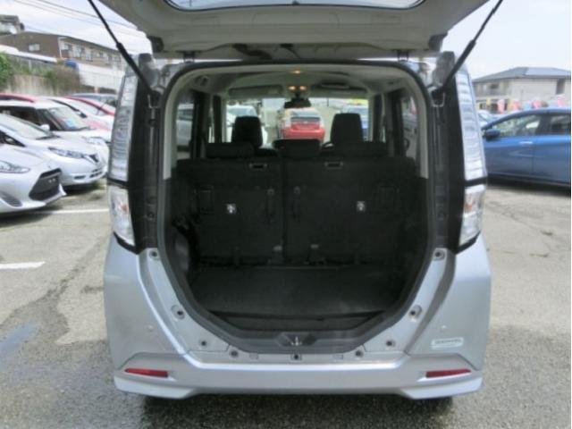 X S 安全ブレーキ・ETC・純正オーディオデッキ・スマートキー・片側電動スライドドア・ハロゲンヘッドライト・電格式ドアミラー・アイドリングストップ・プッシュスタート(26枚目)