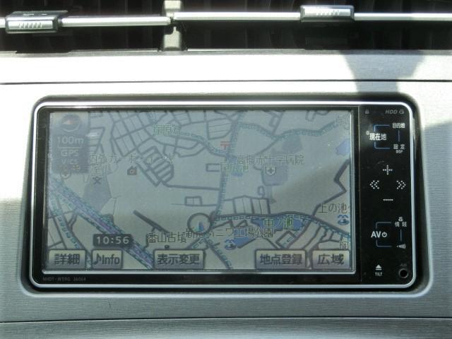 S 後期型・純正HDDナビ・Bluetooth・ワンセグTV・バックカメラ・ETC・スマートキー・オートエアコン・HIDヘッドライト・フォグライト・電格式ウインカードアミラー(9枚目)
