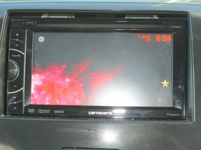 スズキ ワゴンRスティングレー X CD・DVDオーディオ キーフリー HID フォグ