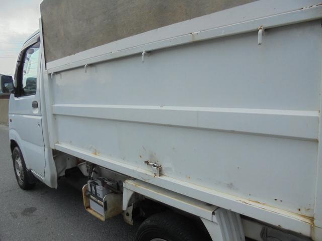 スズキ キャリイトラック 0.35トン軽トラ深ダンプ仕様 荷台ステンレス AC PS