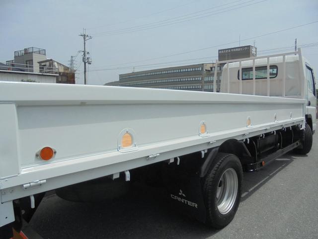 三菱ふそう キャンター 3トン ワイド超ロング 荷寸502-198 3ペダル NOX