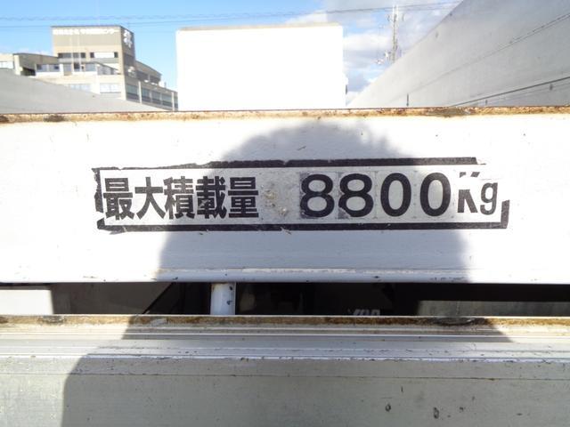 8.8トン 増トン アルミブロック荷寸576-223 NOX(5枚目)