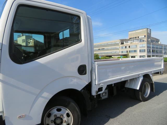 アトラス 1.5トン 平ボディ 低床 ガソリン 5AT 荷台塗装 床板新品張替え 荷寸310-160-38 ABS 取扱説明書(6枚目)