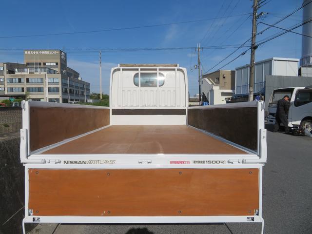 アトラス 1.5トン 平ボディ 低床 ガソリン 5AT 荷台塗装 床板新品張替え 荷寸310-160-38 ABS 取扱説明書(10枚目)