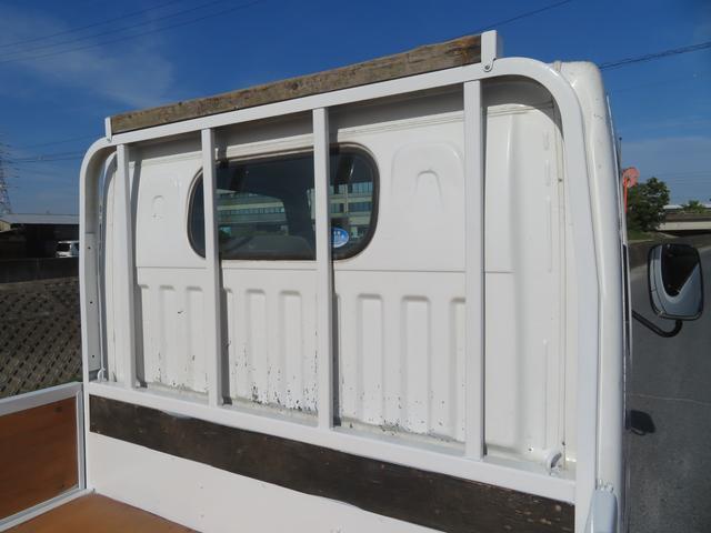 アトラス 1.5トン 平ボディ 低床 ガソリン 5AT 荷台塗装 床板新品張替え 荷寸310-160-38 ABS 取扱説明書(11枚目)