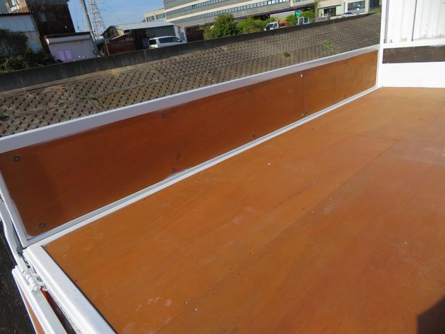 アトラス 1.5トン 平ボディ 低床 ガソリン 5AT 荷台塗装 床板新品張替え 荷寸310-160-38 ABS 取扱説明書(12枚目)