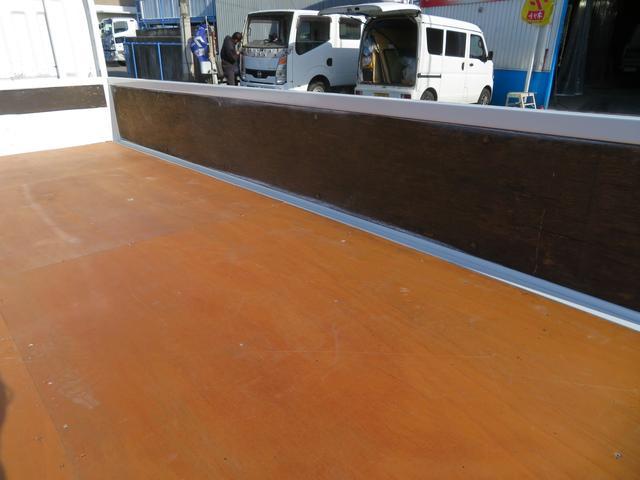 アトラス 1.5トン 平ボディ 低床 ガソリン 5AT 荷台塗装 床板新品張替え 荷寸310-160-38 ABS 取扱説明書(13枚目)