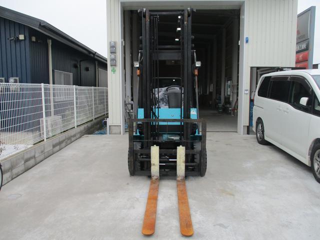 住友 2.4トン バッテリー式カウンターフォークリフト 最大揚高4030MM ツメ長さ1370mm アワーメーター4849.1h フォークシフター 2段ハイマスト 縦394cm 横110cm 高さ259cm(2枚目)