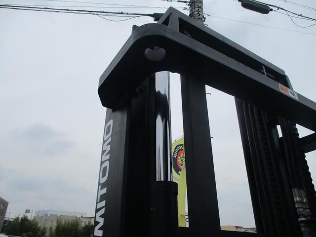 住友 2.4トン バッテリー式カウンターフォークリフト 最大揚高4030MM ツメ長さ1370mm アワーメーター4849.1h フォークシフター 2段ハイマスト 縦394cm 横110cm 高さ259cm(14枚目)