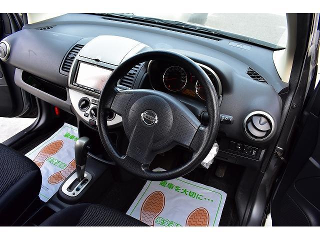日産 ノート 15X プラスナビHDD CD録音 インテリキー ETC