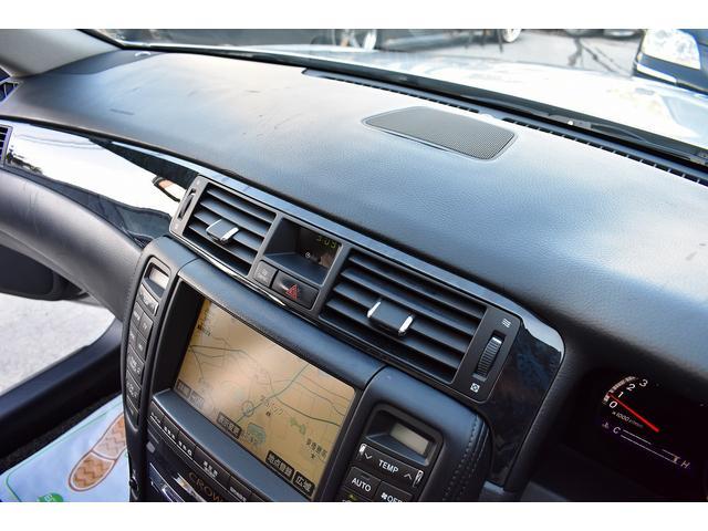 トヨタ クラウン アスリート 60th 黒革シート HDDマルチ バックカメラ