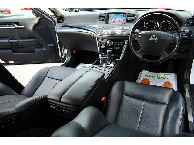 日産 フーガ 250GT 黒革シート HDDナビ バックカメラ HID