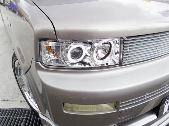 トヨタ bB ZXバージョン 1オーナー 新作エアロ イカリング 新アルミ