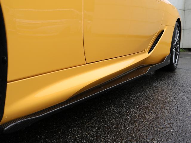 LC500 Sパッケージ TOM'S フルエアロ ドライカーボン製  TRD 21インチ鍛造アルミホイール(21枚目)