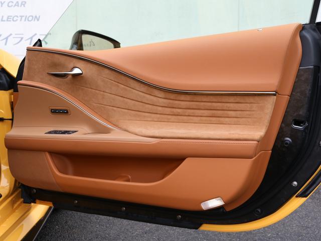 LC500 Sパッケージ TOM'S フルエアロ ドライカーボン製  TRD 21インチ鍛造アルミホイール(41枚目)