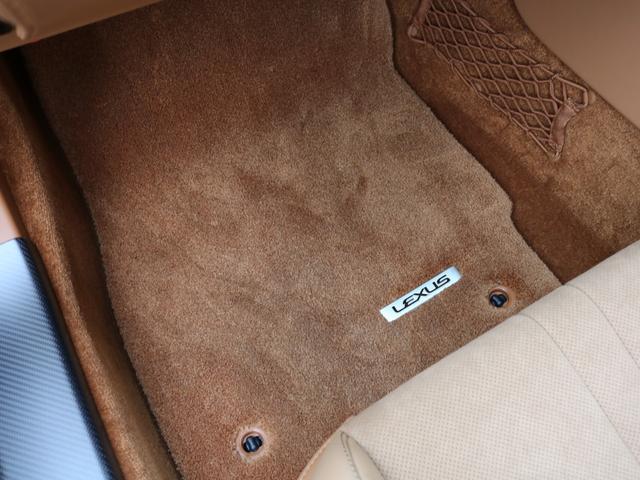 LC500 Sパッケージ TOM'S フルエアロ ドライカーボン製  TRD 21インチ鍛造アルミホイール(50枚目)