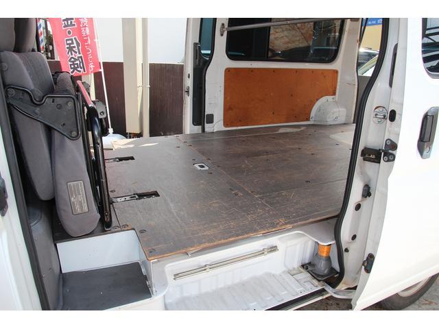 ロング両側スライドドア 運転席パワーウインドウ 荷室補強板張り 6人乗り ETC