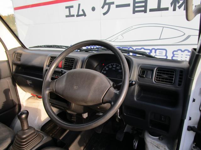 KCエアコン・パワステ 2WD 5MT 3方開(15枚目)