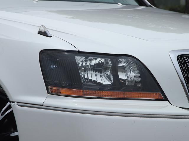 トヨタ クラウンマジェスタ 3.0 モードパルファムエアロ車高調ワーク19AWライト加工