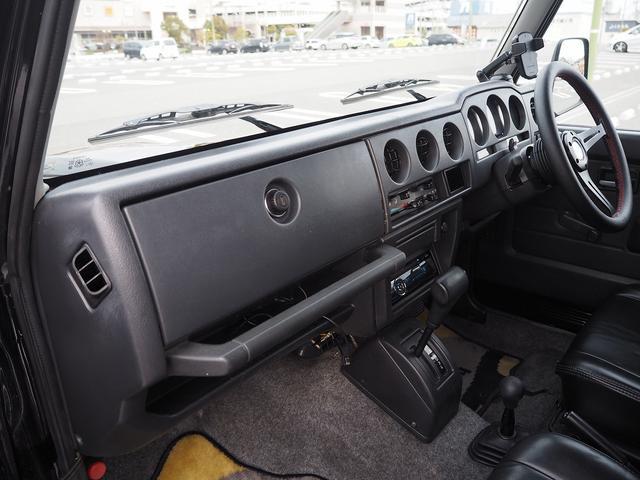 ワイルドウインド リフトアップ 新型シエラ用15AW シートカバー 社外ステアリング CDデッキ 社外バンパー グリル LEDライト LEDテール(42枚目)