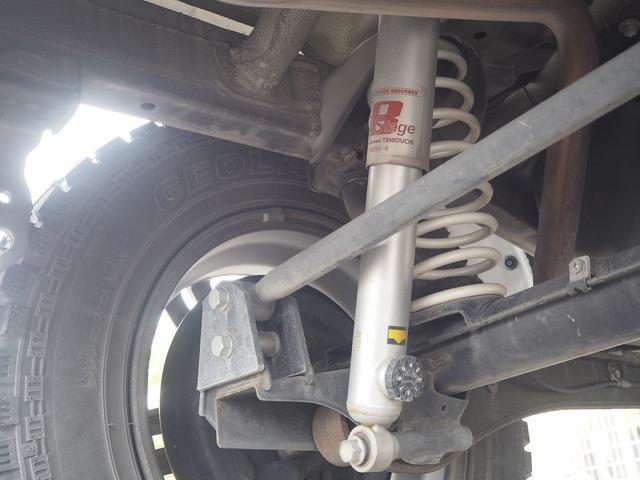クロスアドベンチャー リフトアップ(タニグチ) 16AW GEOLANDAR M/Tタイヤ ブローオフバルブ(GReddy) CDデッキ ETC キーレス(76枚目)