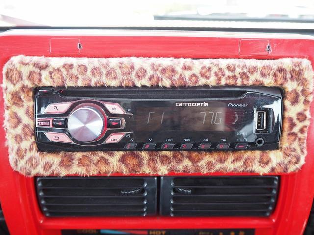 スコットリミテッド リフトアップ 16AW オーバーフェンダー メッキグリル 社外バンパー シートカバー CDデッキ 社外スピーカー 2名乗車 MT載せ替え済み(24枚目)