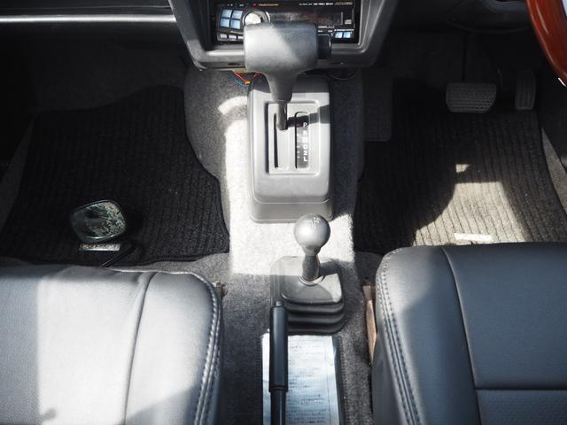 ワイルドウインド リフトアップ 16AW TOYO M/Tタイヤ 社外前後バンパー LEDテール 新品シートカバー・ウッドステアリング ハマーグリル RAYBRIGライト CDデッキ ターボタイマー(29枚目)