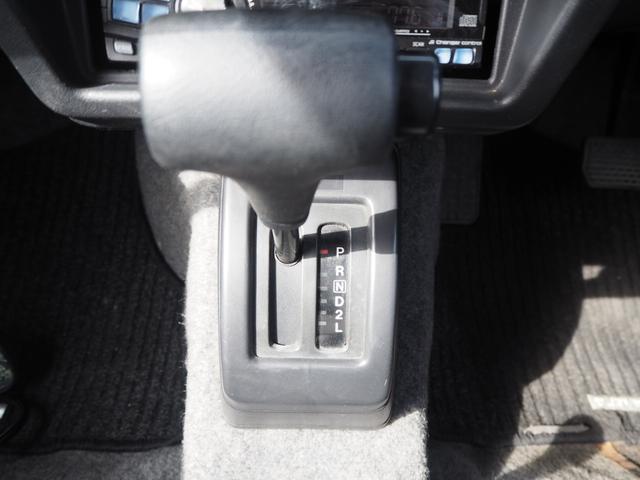 ワイルドウインド リフトアップ 16AW TOYO M/Tタイヤ 社外前後バンパー LEDテール 新品シートカバー・ウッドステアリング ハマーグリル RAYBRIGライト CDデッキ ターボタイマー(30枚目)