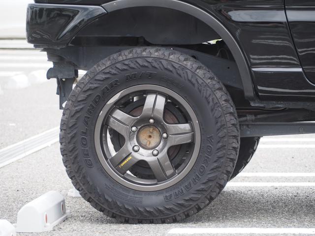 XC リフトアップ 16AW GEOLANDAR M/Tタイヤ 社外マフラー 社外ヘッドライト LEDテール 社外ステアリング ナビ DVD シートカバー(12枚目)