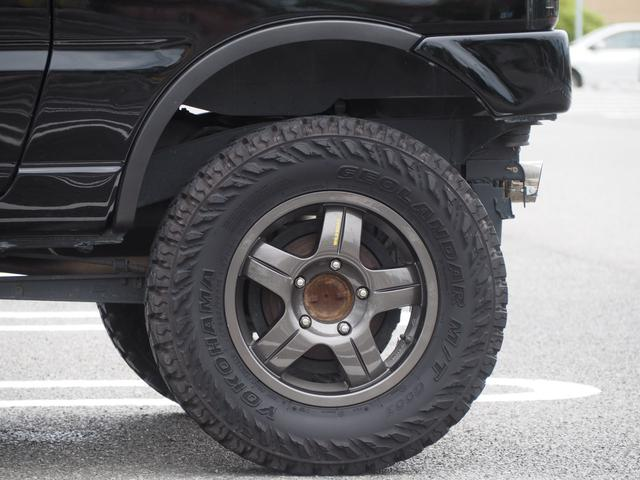 XC リフトアップ 16AW GEOLANDAR M/Tタイヤ 社外マフラー 社外ヘッドライト LEDテール 社外ステアリング ナビ DVD シートカバー(16枚目)