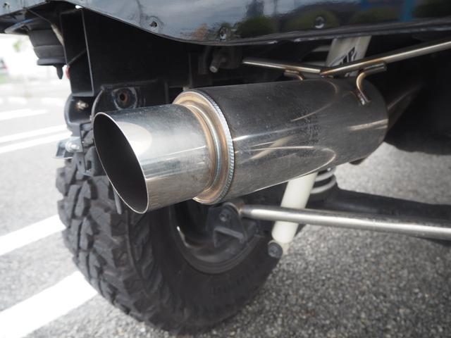 XC リフトアップ 16AW GEOLANDAR M/Tタイヤ 社外マフラー 社外ヘッドライト LEDテール 社外ステアリング ナビ DVD シートカバー(73枚目)