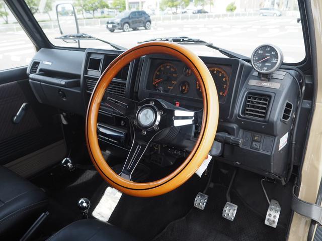 HC 3インチリフトアップ TAC16AW TOYO M/Tタイヤ SUZUKIエンブレムグリル F.Rパイプバンパー RAYBRIGライト LEDテール レザー調シートカバー ウッドステアリング CD(22枚目)