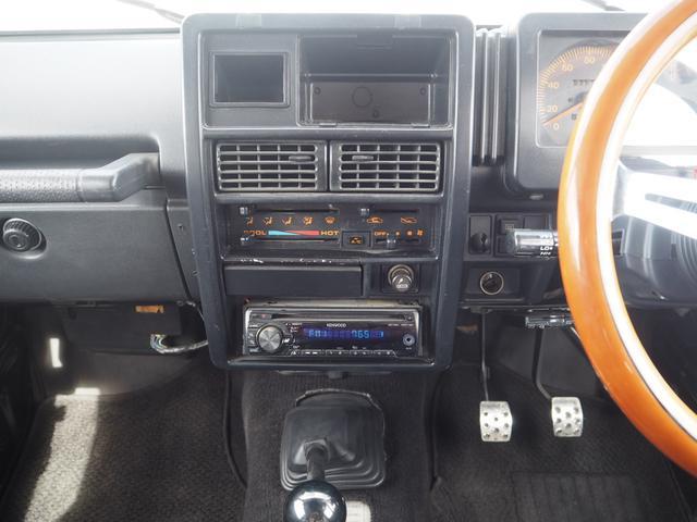 HC 3インチリフトアップ TAC16AW TOYO M/Tタイヤ SUZUKIエンブレムグリル F.Rパイプバンパー RAYBRIGライト LEDテール レザー調シートカバー ウッドステアリング CD(25枚目)
