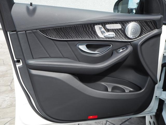 GLC43 4マチック レザーEXCパッケージ パノラミックスライディングルーフ/アラウンドビューモニター/Burmester/パークトロニック/黒革シート/キーレスゴー/AMGスポーツサスペンション/純正ドライブレコーダー/シートヒーター(44枚目)