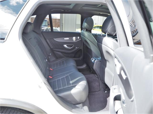 GLC43 4マチック レザーEXCパッケージ パノラミックスライディングルーフ/アラウンドビューモニター/Burmester/パークトロニック/黒革シート/キーレスゴー/AMGスポーツサスペンション/純正ドライブレコーダー/シートヒーター(50枚目)