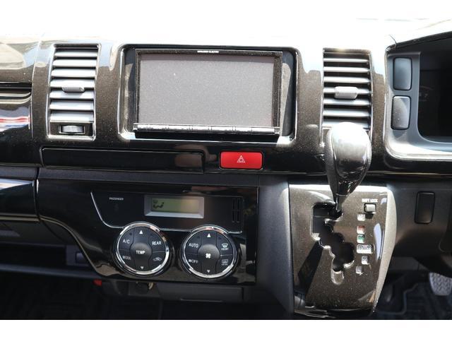トヨタ ハイエースバン S-GL5ナンバー乗用登録エアロカスタムコンプリート地ナビ