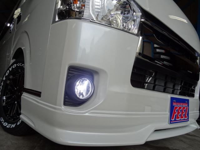 トヨタ ハイエースバン 3.0D-TS-GLダークプライムエアロカスタムコンプリート