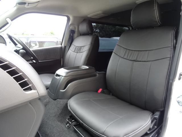トヨタ ハイエースバン 3.0D-T S-GL3列レザーシート5No乗用登録8人乗り