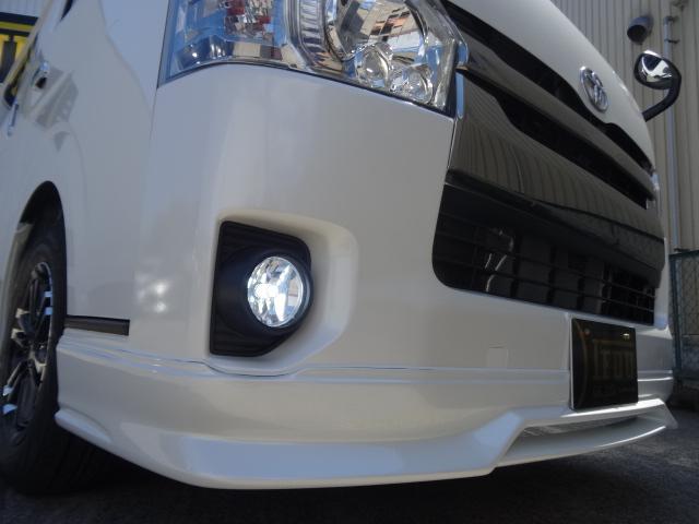 トヨタ ハイエースバン S-GL D-T4WDダークプライム コンプリートTYPE3