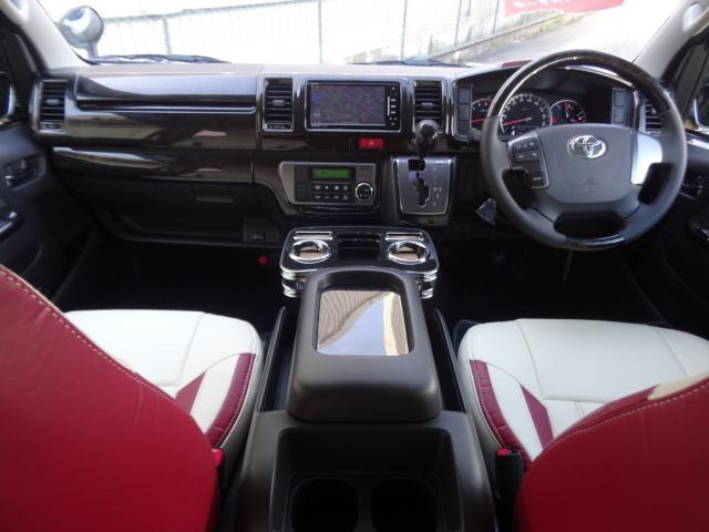 トヨタ ハイエースバン 3.0D-TS-GLDプライム IFUUカスタムコンプリート