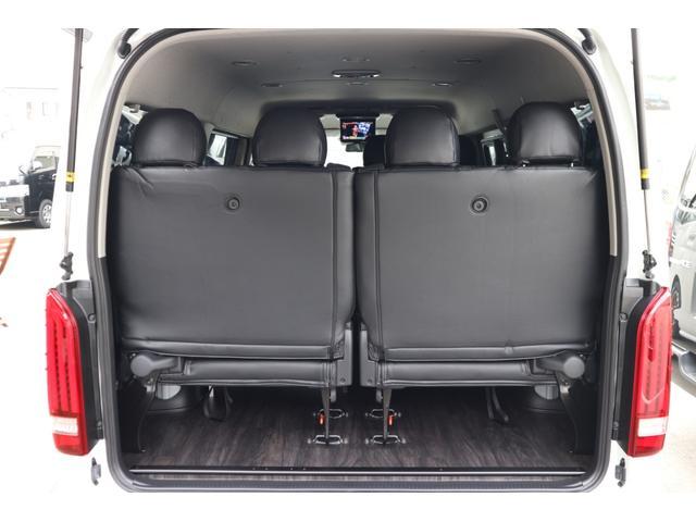 GL 3列目対面ラウンジベット家具フローリング車中泊アウトドア仕様カスタムコンプリートIIIIdentityエアロパッケージ(9枚目)
