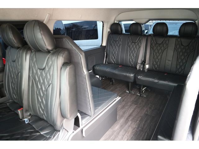 GL 3列目対面ラウンジベット家具フローリング車中泊アウトドア仕様カスタムコンプリートIIIIdentityエアロパッケージ(12枚目)