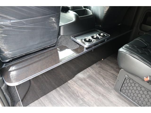 GL 3列目対面ラウンジベット家具フローリング車中泊アウトドア仕様カスタムコンプリートIIIIdentityエアロパッケージ(15枚目)