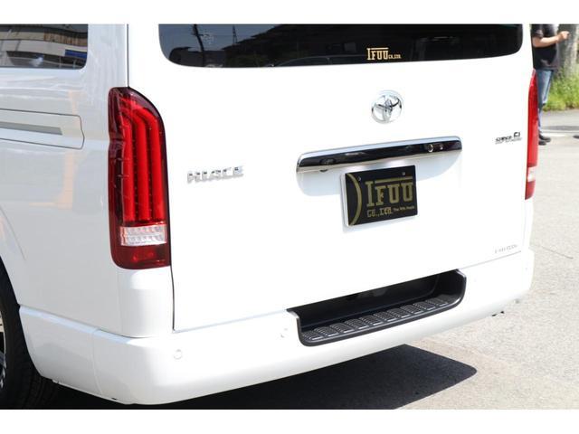 スーパーGL ダークプライムII 2.8D-T3ナンバーワゴン乗用車登録8人ベンチシート2脚スライドレールフルセグナビフリップダウンモニター両側電動スライドドアパノラマミックビューモニターLEDテールウッドインテリアミニバン仕様(15枚目)