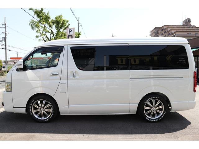 スーパーGL ダークプライムII 2.8D-T3ナンバーワゴン乗用車登録8人ベンチシート2脚スライドレールフルセグナビフリップダウンモニター両側電動スライドドアパノラマミックビューモニターLEDテールウッドインテリアミニバン仕様(18枚目)