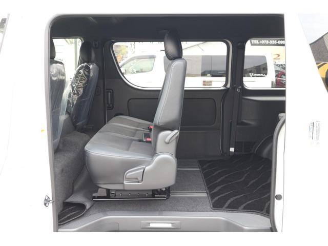 スーパーGL ダークプライムII 2.8D-T3ナンバーワゴン乗用車登録8人ベンチシート2脚スライドレールフルセグナビフリップダウンモニター両側電動スライドドアパノラマミックビューモニターLEDテールウッドインテリアミニバン仕様(24枚目)